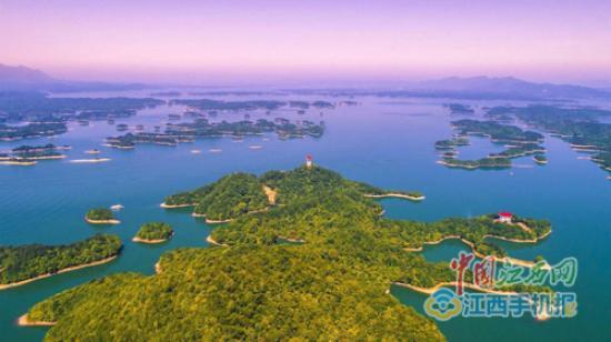 庐山西海风景名胜区位于江西省北部,九江市西南部,地跨武宁,永修两