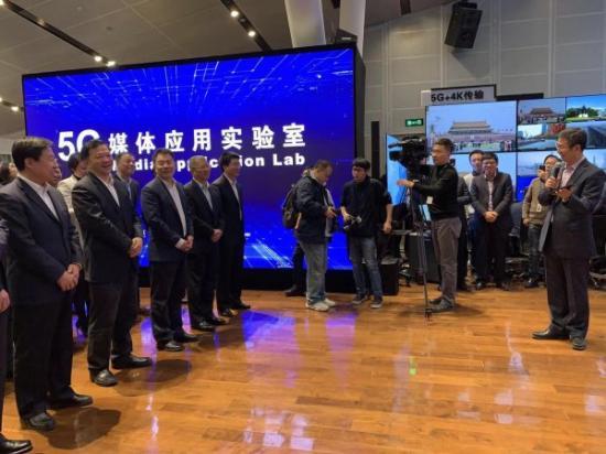 央广两会新闻中心首次由中国联通实现5G全方位服务