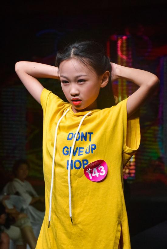 """""""天使之步""""全球巡回少儿模特大赛由青岛艺次方文化创意有限公司组织"""