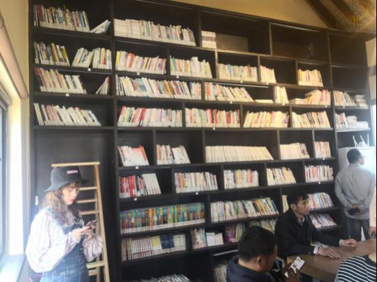 张庄村桐花书馆 许华卿/摄